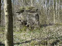 German Signalling Post, Adinfer Wood, The Somme