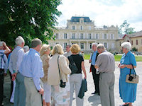Group outside Giscours